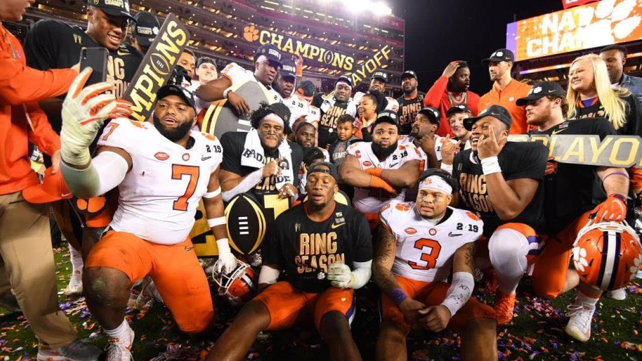 Tigers Football Champs 2018