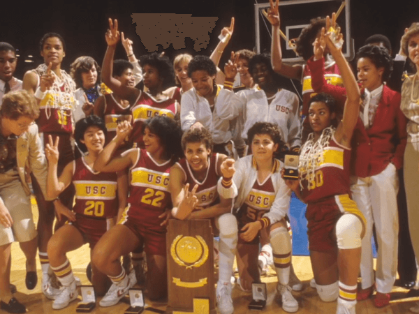 Trojans Womens Basketball Champs 1984