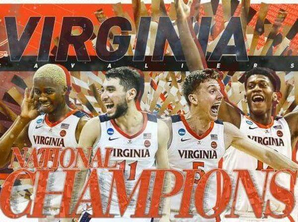 Virginia Basketball Champs 2019