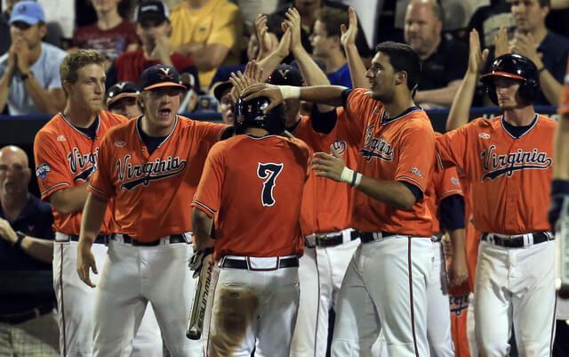 NCAA Baseball: College World Series-Vanderbilt vs Virginia