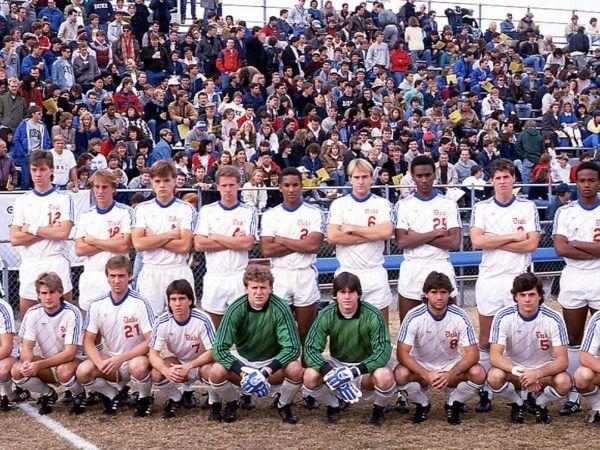 Blue Devils Soccer Champs 1986