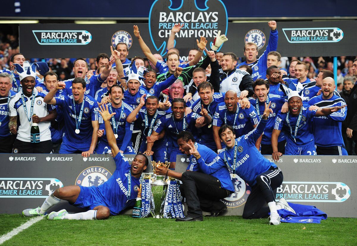 Chelsea FC Champions 2010
