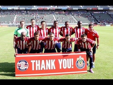 Chivas USA Thank You