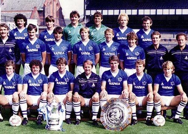 Everton FC Double 1985