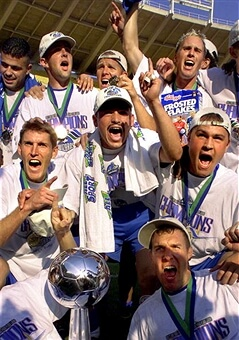MLS Champs KC Wizards 2000