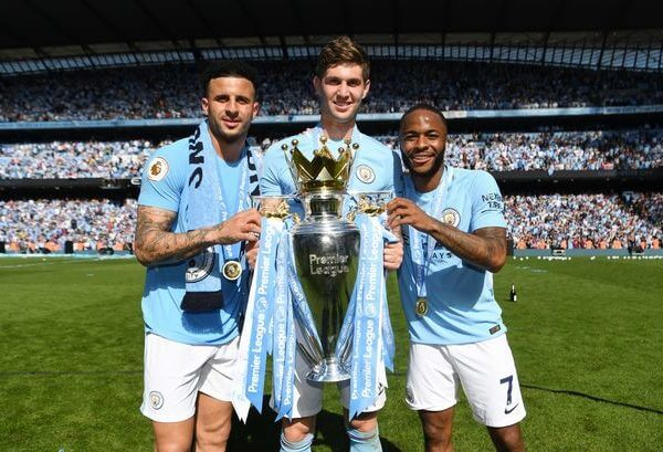 Manchester City FC Champs 2019