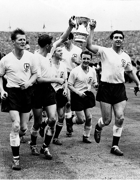 Spurs 1961 FA Cup Champs