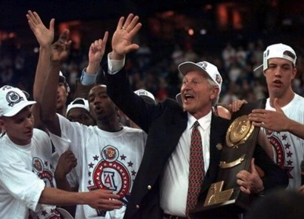Arizona Wildcats Men's Basketball Champions 1997
