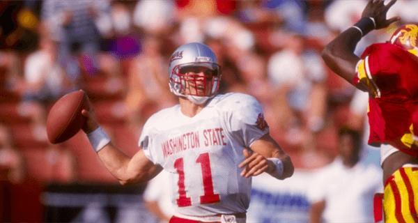 Drew Bledsoe Washington State Cougars 1992