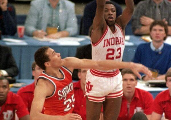 Hoosiers Keith Smart Shot 1987