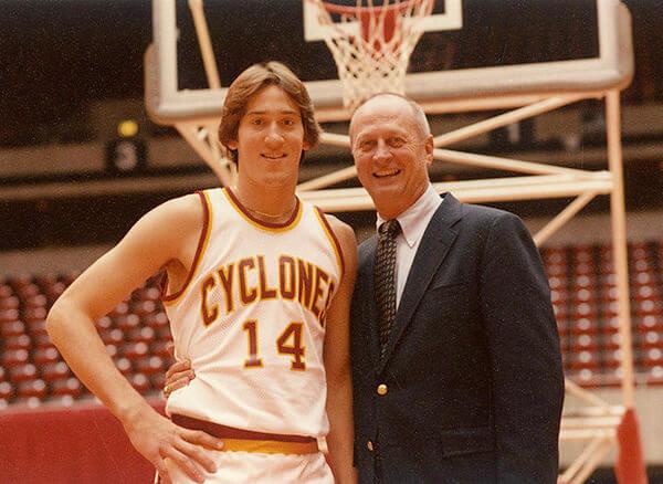Iowa State Jeff Hornacek and Johnny Orr