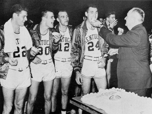 Kentucky Wildcats - Rupp 1958