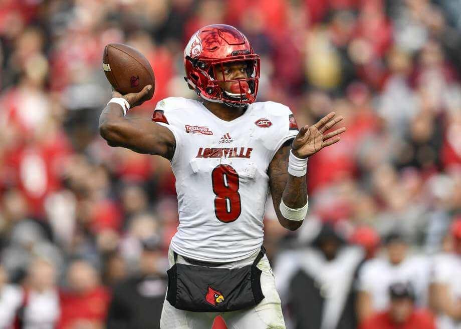 Louisville Cardinals Lamar Jackson