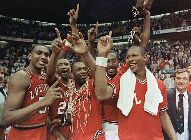 Louisville Cardinals NCAA Basketball Champs 1986