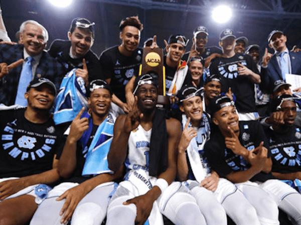 North Carolina Tar Heels Final Four Champs 2017