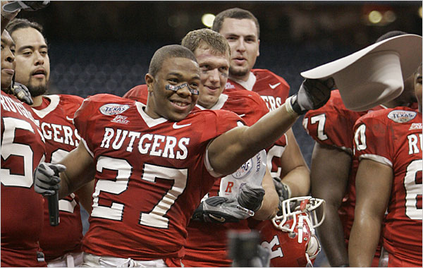 Rutgers Scarlet Knights Ray Rice