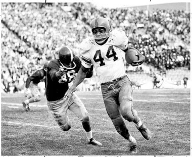 Syracuse Orangemen Jim Brown