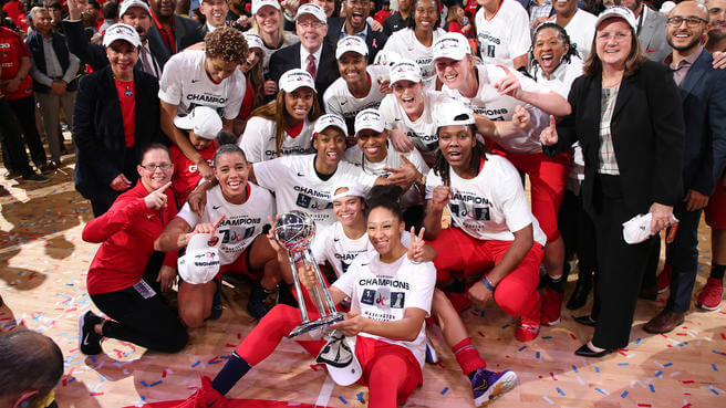 Washington Mystics Champs 2019