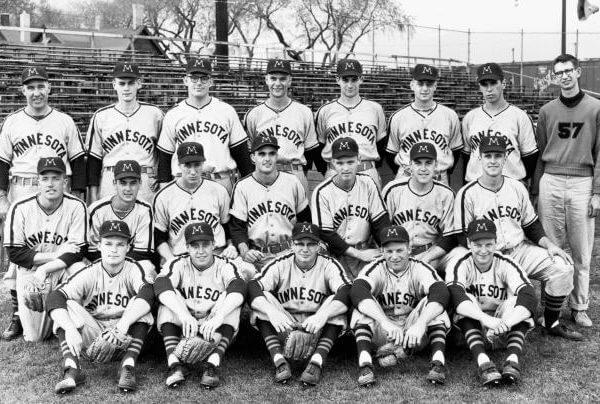 Minnesota Baseball Team Photo 1960