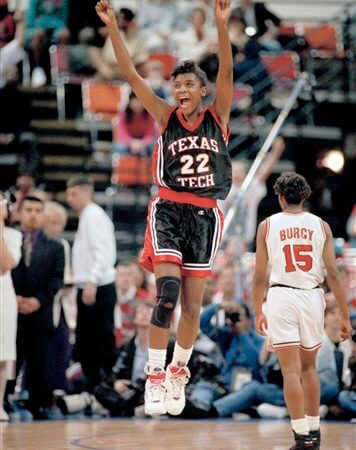 TT Red Raiders Sheryl Swoopes