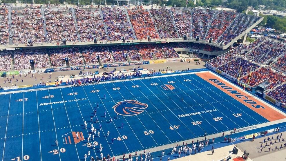 Boise State Broncos Blue Stadium