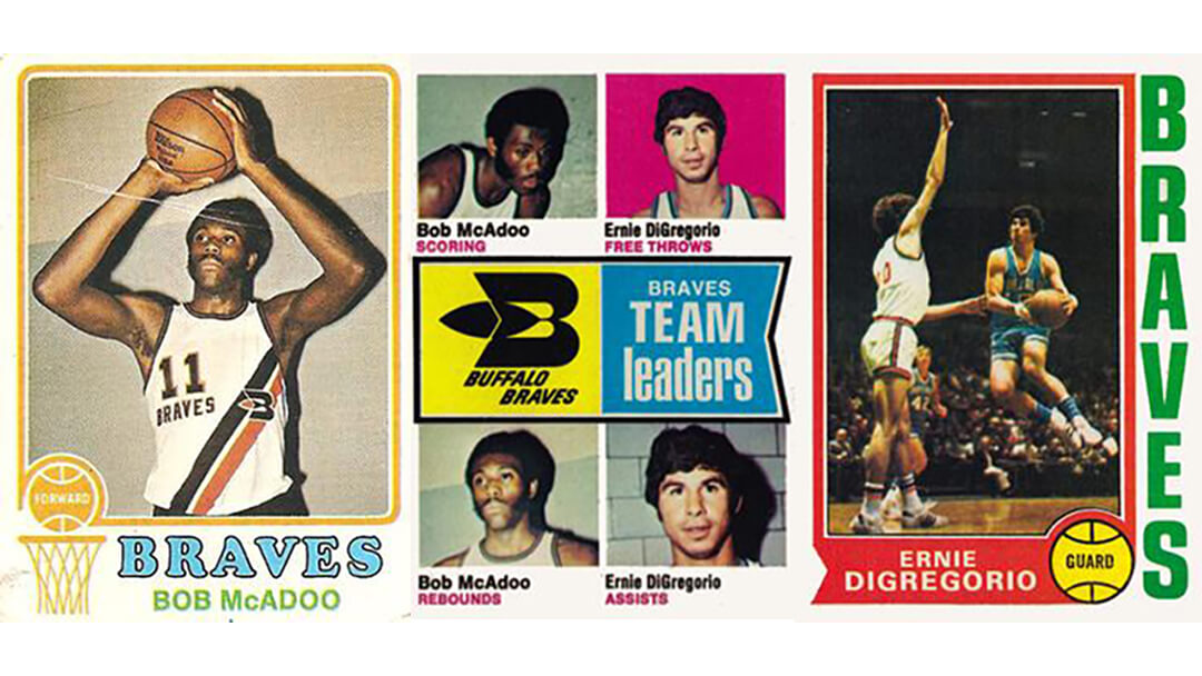 Buffalo Braves Trading Cards