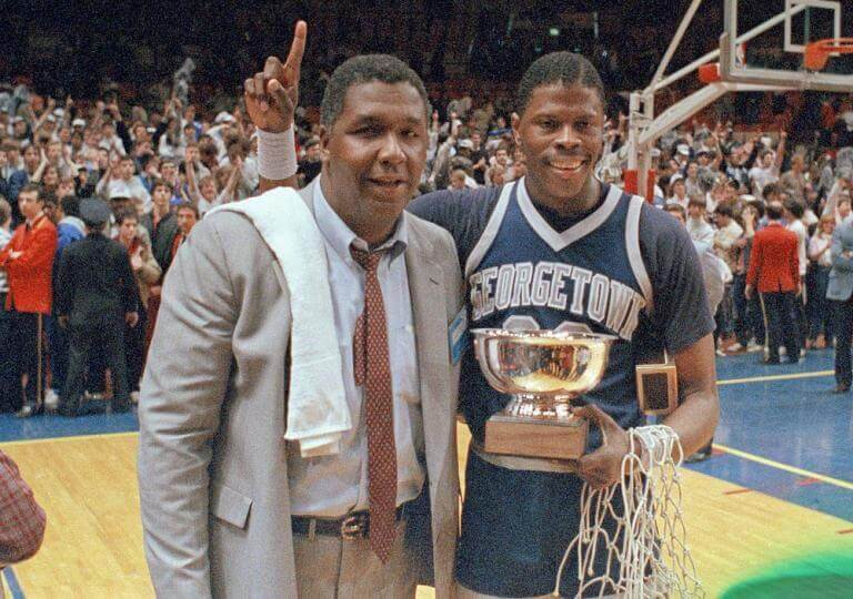 Georgetown Hoyas Basketball Champs 1984