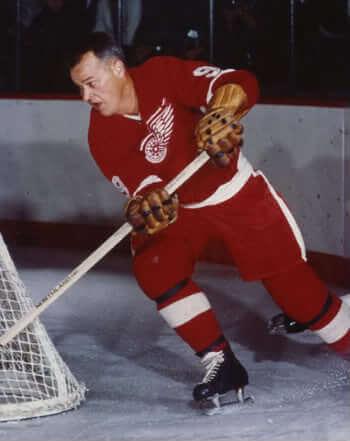 Gordie-Howe-Red Wings
