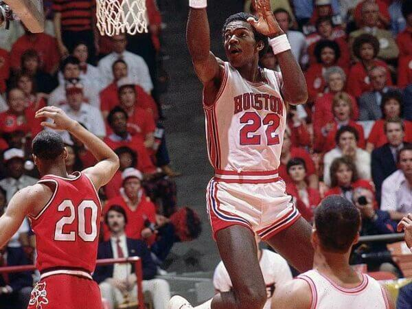 Houston Cougars Clyde Drexler 1983