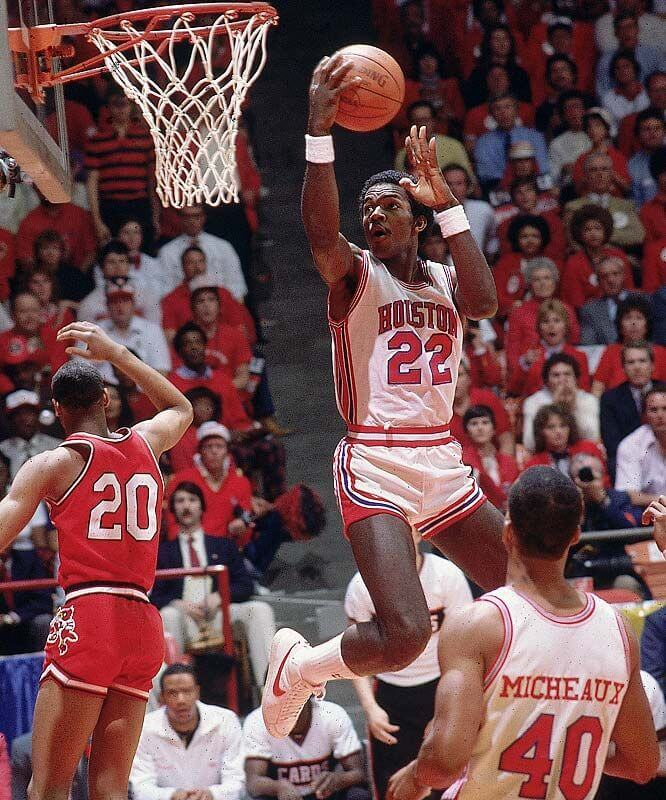 Houston Cougars Clyde Drexler 1983