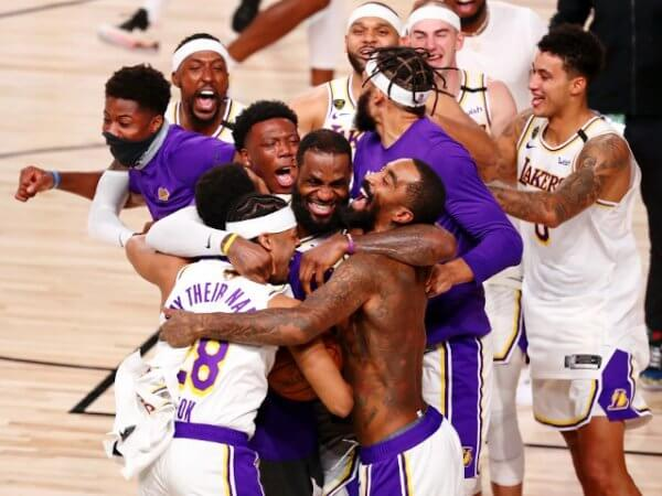 Lakers Champs 2020