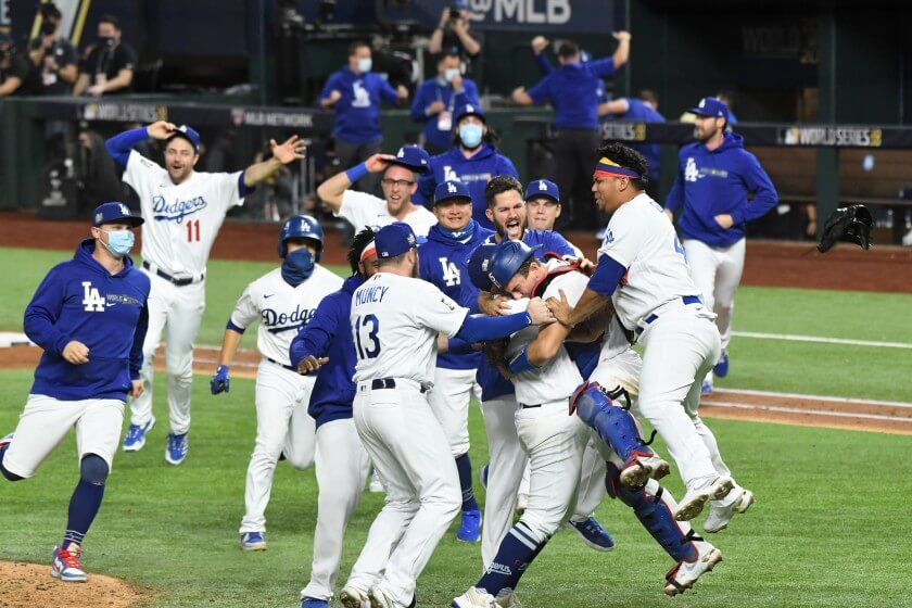 Los Angeles Dodgers World Series Champs 2020