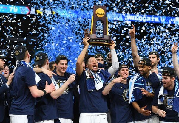 Villanova Wildcats Champs 2018