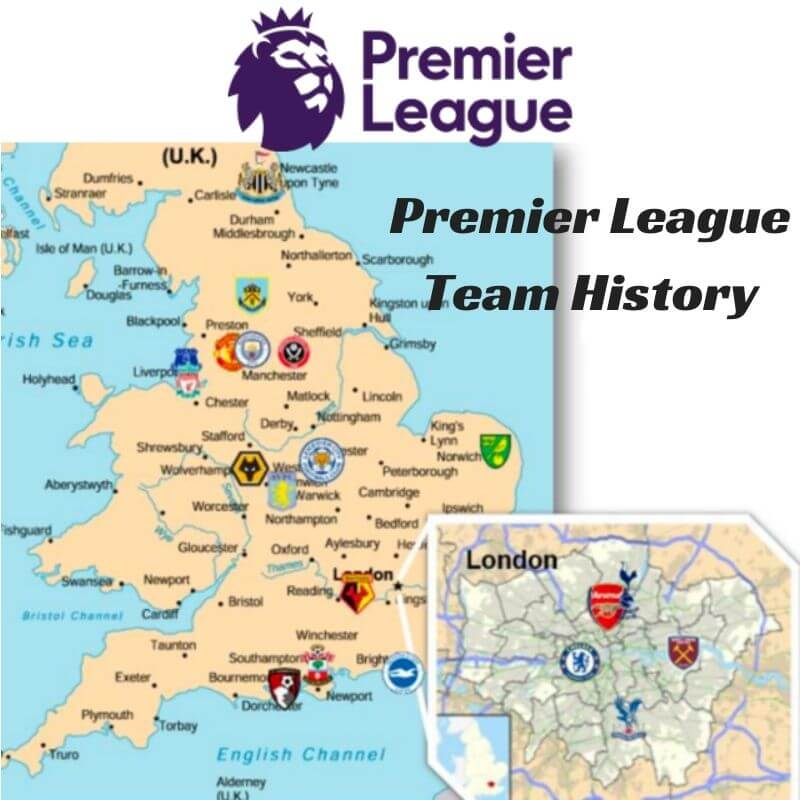 Premier League Team History Icon
