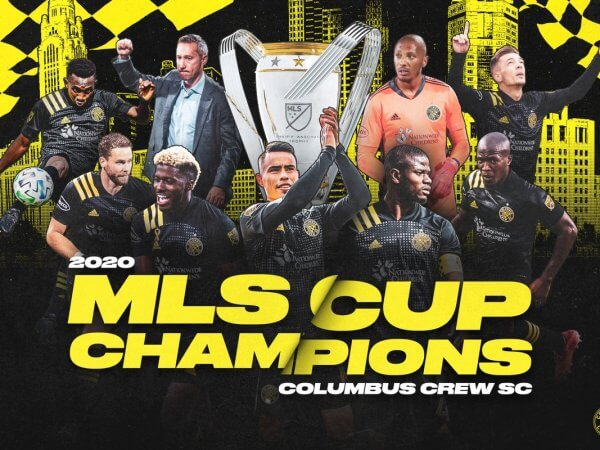 Columbus Crew SC MLS Champs 2020