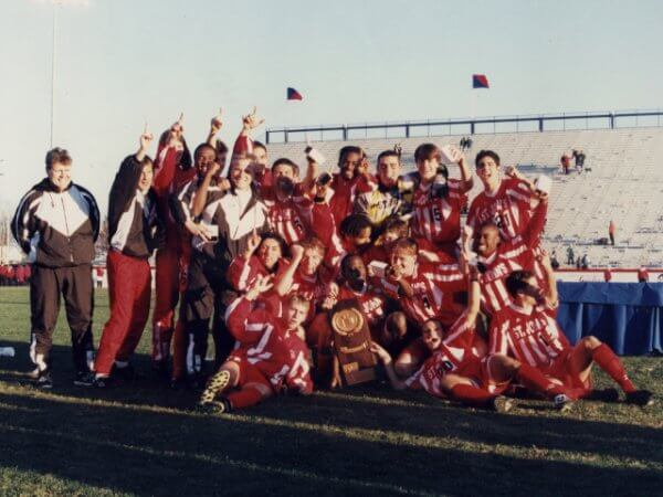 St Johns Red Storm Soccer Champs 1996