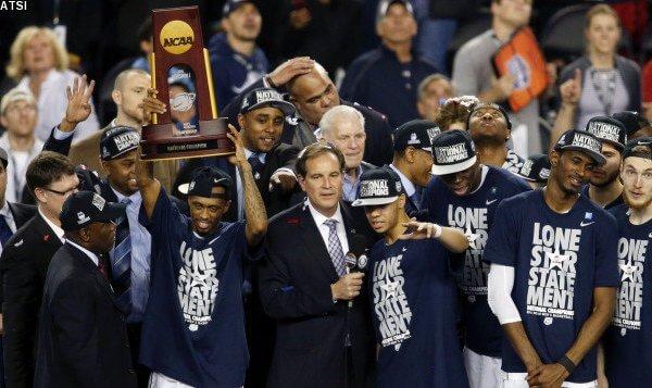 NCAA Basketball: Championship Game Connecticut vs Kentucky
