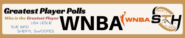 WNBA Greatest Player Poll Banner