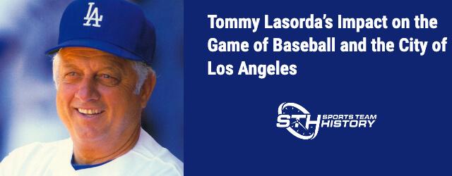 Tommy Lasorda Impact Baseball Icon