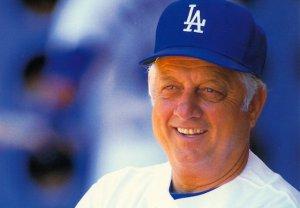 Tommy Lasorda LA Dodgers