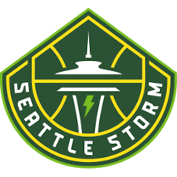 Seattle Storm Primary Logo 2021 - Present