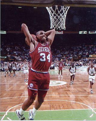 Charlies Barkley Philadelphia 76ers