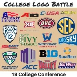 College Logo Battle