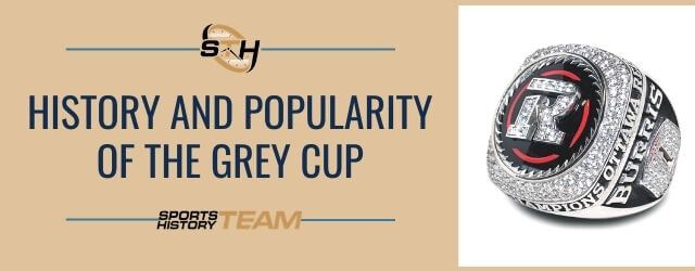 STH News Header - History of Grey Cup