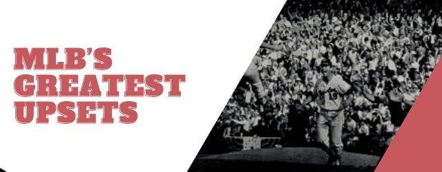 STH News Header - MLB Upsets