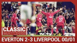 Everton vs Liverpool 2001