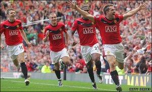 Manchester United vs Manchester City 2009