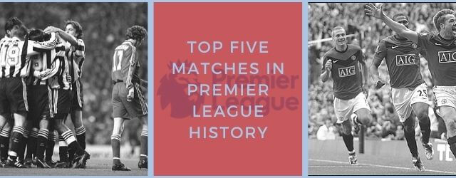 STH News Header - Top Five Matches
